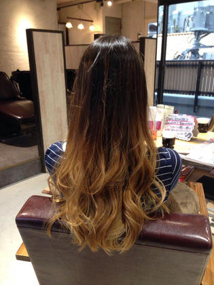 【ナチュラル×オンブレ】 grace hair dressing所属・宮澤北斗のスタイル