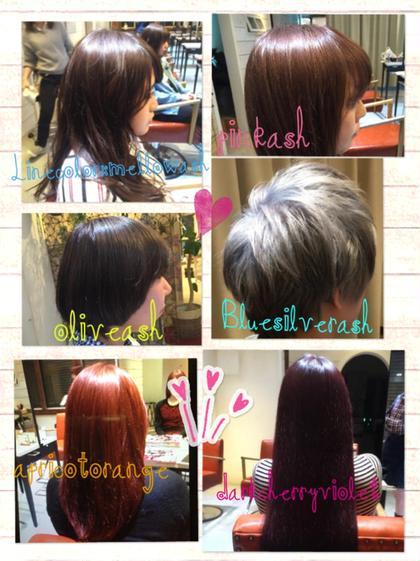 haircolor♡ JYUNESU  表参道店所属・米持冬花トップスタイリストのスタイル