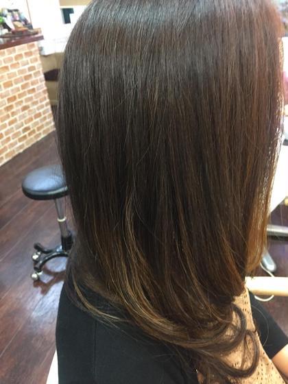 ボブ スタイルアナ&デジタルパーマ   髪質改善しながら毛先にエアリーパーマ   バーデンス(アナ&デジ)エアリーパーマ