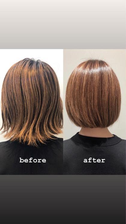 🌱カット+髪質改善トリートメント