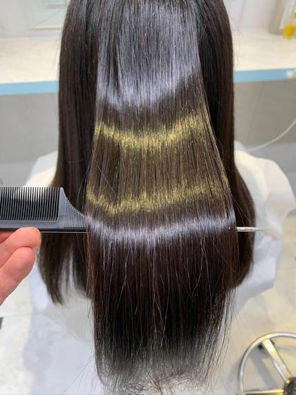 【髪質改善クーポン】酸熱トリートメント+集中補修トリートメントセット💓
