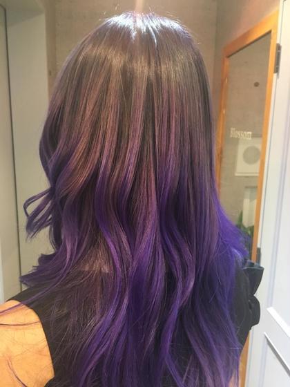 2番人気💕平日限定ケアブリーチ使用ダブルカラー+トリートメント❄️ご希望で前髪カット💓ロング料込み💕