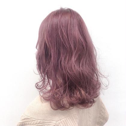 🌻大大大!特別価格🌻ブリーチ➕ハイ透明感カラー➕髪質改善トリートメント➕炭酸スパ💜💜