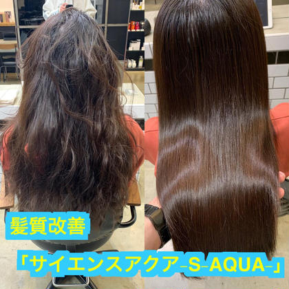 残り2枠新規✨チリチリ毛も治せる!?最新科学✨髪質改善「サイエンスアクア」