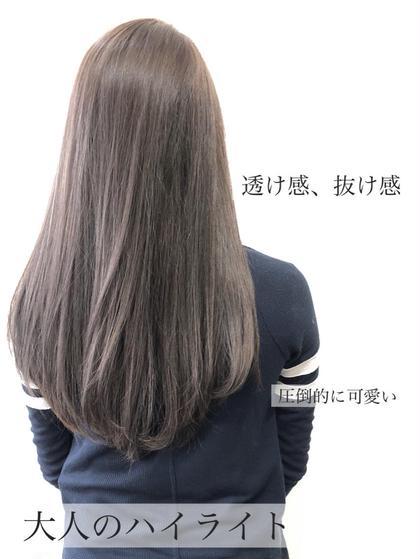✨イチオシ✨光色☆イルミナcolor+カット+トリートメント