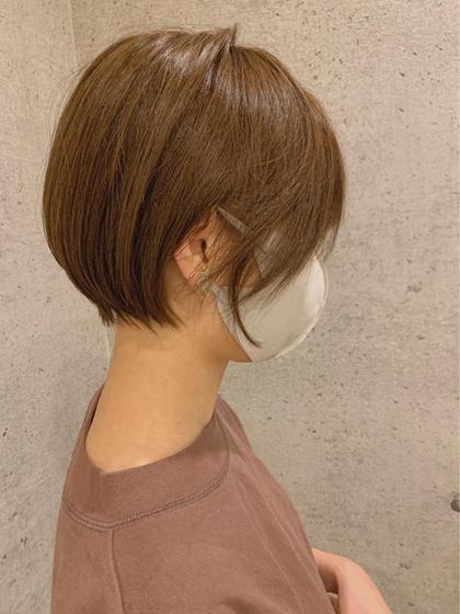 🌿U-24限定🌿全体オシャレ染めカラー+髪質改善トリートメント+極上シャンプーブロー