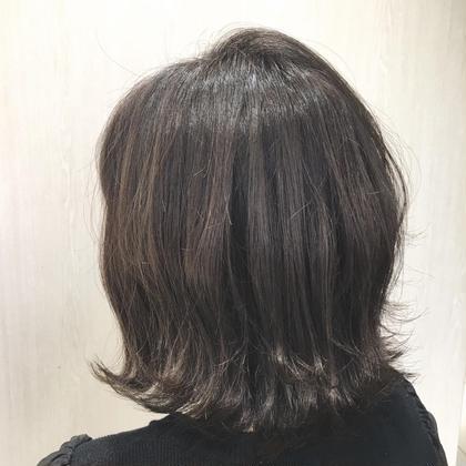 【新規✂︎】3番人気✨🌸春色🌸暗髪👩🏻思いのままに💗カラー+トリートメント