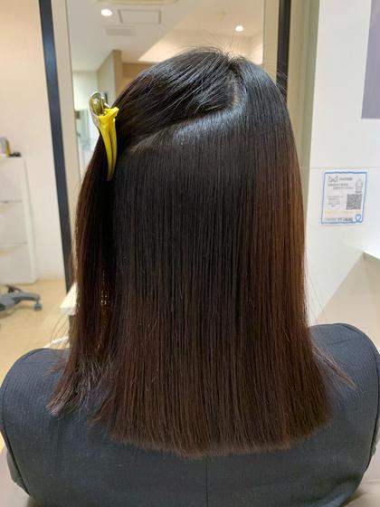 💐痛めずに癖を伸ばしたい方💐ダメージを気にしてる方へ💐超美髪矯正メニュー誕生!カット+美髪縮毛矯正+トリートメント