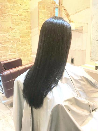 【こちらもおすすめ⭐️】カット & 髪質改善うる艶ストレート&業界最強TOKIOトリートメント&炭酸泉