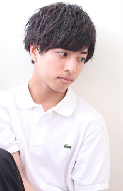 【✨超簡単✨3分スタイリング✨】メンズカット & メンズパーマ