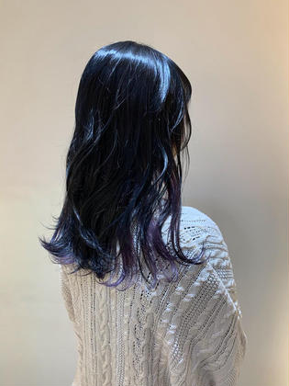 ❣️髪質ケア❣️【オラプレックス使用】インナーカラー+髪質改善高級トリートメント