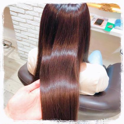 🦢前髪カット+フルカラー🦢