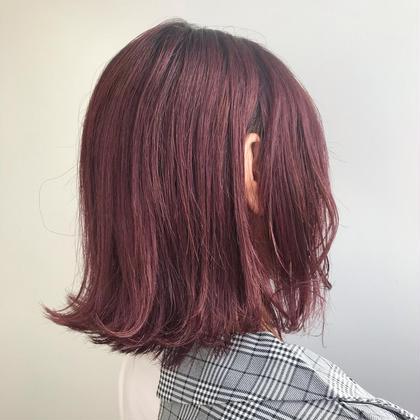 カラー🌈 ➕髪質改善トリートメント✨✨
