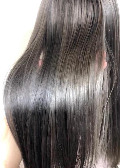 ✨【髪質改善ストレート】✨カット+髪質改善ストレート+3step Tr💛うねり、ボリュームが気になる方へ