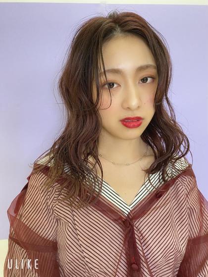 ゆるふわカットパーマ♡