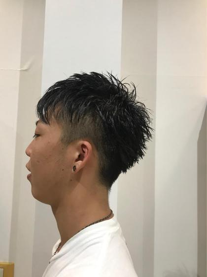 メンズモデルさん(^O^)  ツーブロックと刈り上げで今風のショートスタイルに。 営業の方でも、おしゃれにさっぱりカットできます! 後藤彩のショートのヘアスタイル