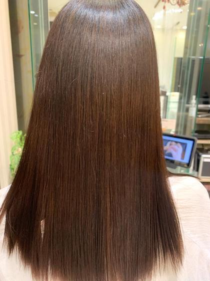 髪質改善プレミアムストレート