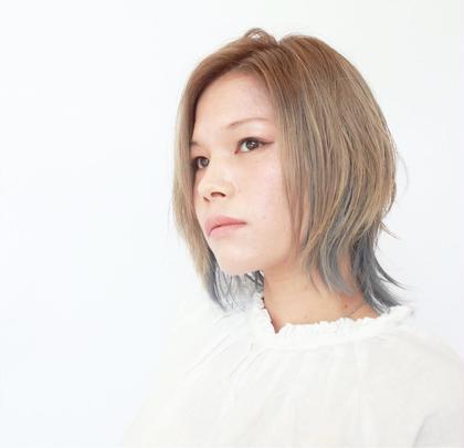 ウルフショート!!モードが入ったスタイルです! HAIR STORY Novia所属・西田優のスタイル