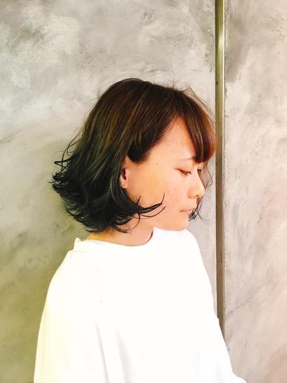 髪香美容室所属・江口淳子のスタイル