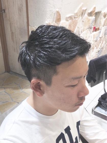 カット+⚡️炭酸ヘッドスパ⚡️【メンズ マッシュ 毛量  ツーブロ 刈り上げ 新宿】