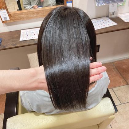 1日1名限定【ミディアム】艶髪美髪矯正コース(カット有り)