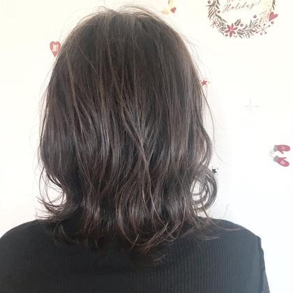 🌼ご新規様限定🌼カット+カラー(毛髪強化トリートメント込み)