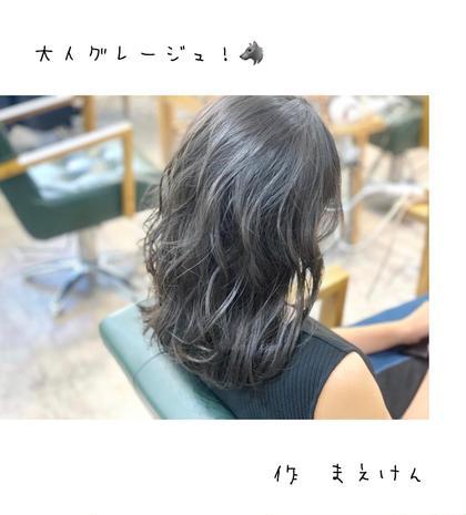カット + 「イルミナ、アディクシー、throw」透明感カラー + TOKIO 又は oggi ottoトリートメント