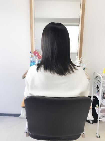 その他 マツエク・マツパ ミディアム 付ける前〜〜ヘアエクステ