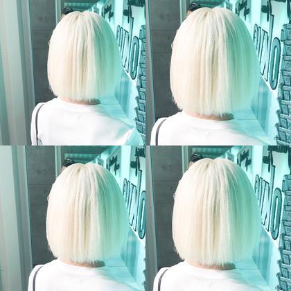 ・perfect White・ ✳︎10800円〜✳︎ ✳︎minaでブリーチ3〜5回出来れば綺麗なホワイトヘアを作れます👻 ✳︎ ✳︎ダメージが強いとブリーチが出来ない場合もあるのでご了承ください ✳︎ムラシャンはエンシェールズのシャンプーを薄めて使うのがオススメ🧖🏻♀️ ✳︎ ✳︎黒染めや縮毛、デジパをしていなくてダメージがひどくなければおおよそ4〜5回ブリーチで出来ます🦄✳︎ 最後まで可愛く仕上げます🇰🇷 ✳︎ お店の近くにあるティファニーカフェで映えな写真もプレゼントします🦄 ✳︎ ✳︎黒染め履歴、ダメージが強い方はでホワイトにはならないです💦  #原宿#ハイトーンカラー#シルバーカラー#ヘアカラー#ネイビーカラー#ホワイトカラー#ブロンドヘアー#アッシュ#ケアブリーチ#ブロンドカラー#派手髪#ラベンダーカラー#ミルクティーカラー#アッシュ#ミルクティーベージュ#ブルージュ#グレージュ#ピンクカラー#インナーカラー#ハイライトカラー#グラデーションカラー#bts#seventeen#twice ✳︎ ✳︎ ✳︎