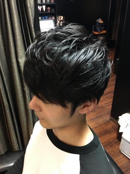 重めのスタイル ヒロ銀座田町店所属・光吉健太朗のスタイル