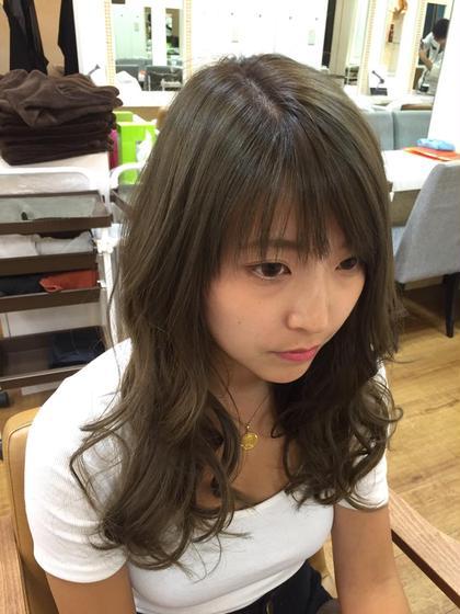 グレージュカラー!今流行りの外国人風カールがまた可愛い(・Д・)ノ Field所属・kyoheiitoのスタイル