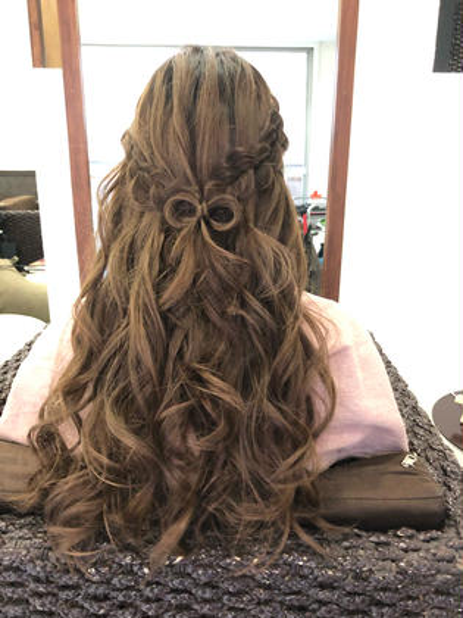 前髪カット+ヘアセットorコテ巻き(ウェーブor巻き髪)✨