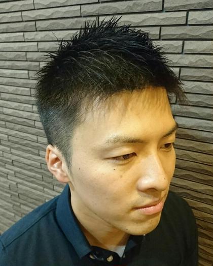 メリハリショート  barbier GRAND GINZA所属・菊地武治 グラン マネージャーのスタイル