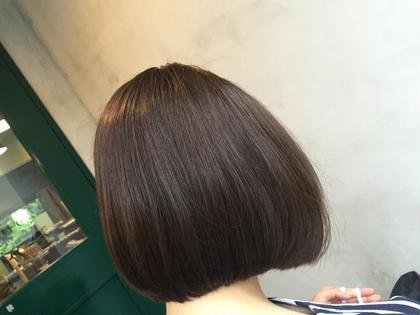 ぱっつんボブ CIECA.所属・本田裕磨のスタイル