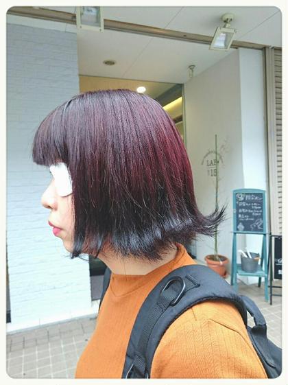 誰とも被らない個性溢れる逆グラデーションカラー☆ Hair&Beauty  RITA所属・□モチマルチアキ□のスタイル
