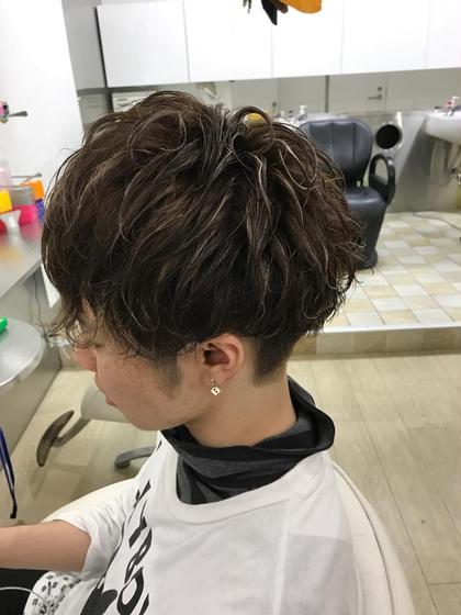 メンズパーマ&カット HAIR DELIGHT所属・中島栞のスタイル