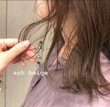 特別set✨🌈🌈ニュアンスワンカラー🌈🌈➕枝毛ダメージレスカット➕前髪カット➕トリートメント✨✨