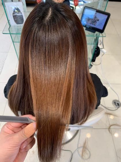 髪質改善トリートメント+カット+カラー