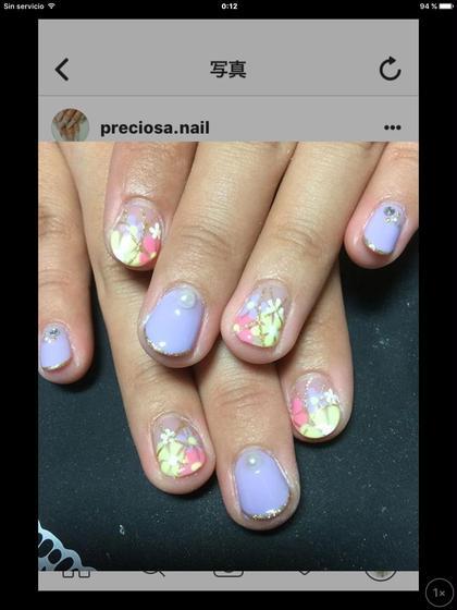 フラワーネイル いつでも同じ価格♪ preciosa.nail所属・preciosa.nailのフォト