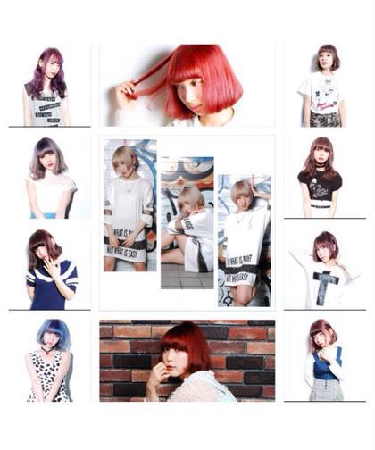 撮影してきたモデル様方♡ シェリー原宿所属・フリーランス美容師masatoのスタイル