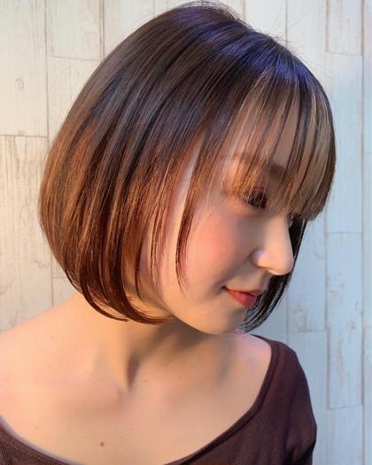 【☘️minimo人気No.1☘️】似合わせ小顔カット➕透明感カラー