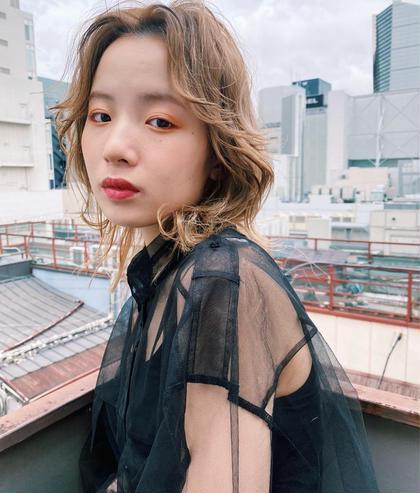 🌿🌻10月限定🌻🌿カット+ブリーチ+カラー+3stepトリートメント 韓国 ヘア