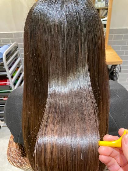 ✨ツヤ髪✨縮毛矯正&質感チェンジトリートメント✨