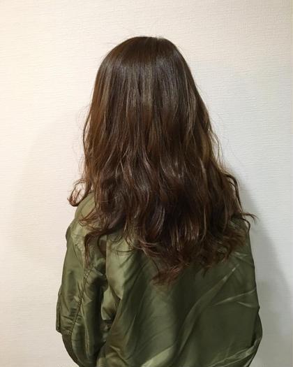 otonaハニーチョコレート♪波巻きセット♪ hairlabshiro所属・吉原勇気のスタイル