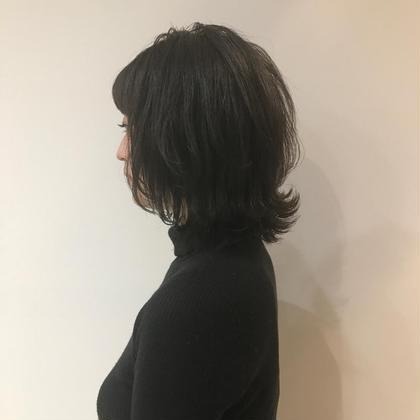 (スペシャルヘアケア!)🌹ダメージ94%カットの魔法の全体カラー+トリートメント🌹一緒に髪を育てましょう✨