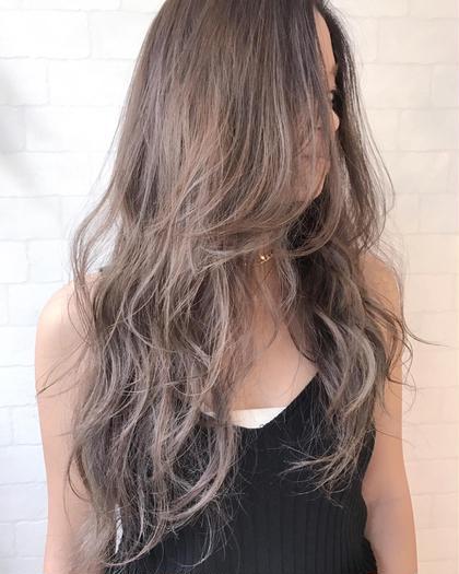 外国人風カラーです! (ハイライト・カラー) HairWorksHELM所属・Designer大井渉のスタイル