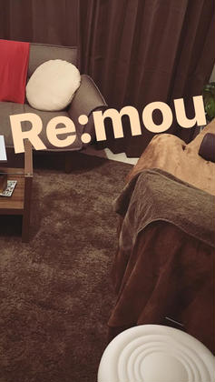 Re:mou店内の様子✨  完全個室のプライベートな時間… 極上の癒し空間での施術をぜひ体感下さい❤️