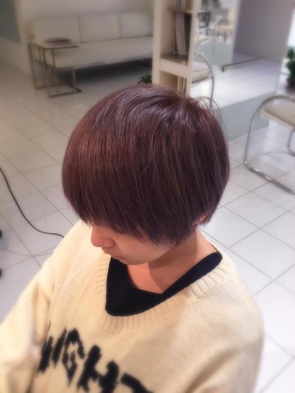 ダブルカラーで透明感のある髪色へ! ブリーチ後ラベンダーアッシュを重ねて、冬にもマッチするアッシュ系カラー Jam所属・星野将司のスタイル