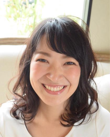 ナチュラルクリアスタイル spin hair 桂所属・上野恵美のスタイル