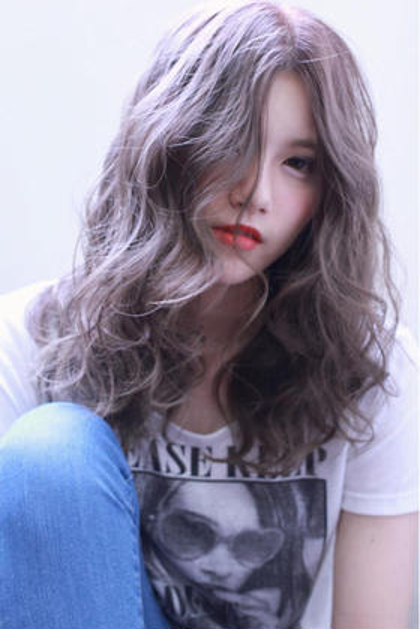 カラー ミディアム アッシュグレー ⭐︎photo&color  担当スタイリスト  AKI☆⭐︎ ⭐︎instagram →  @aki.0218⭐︎